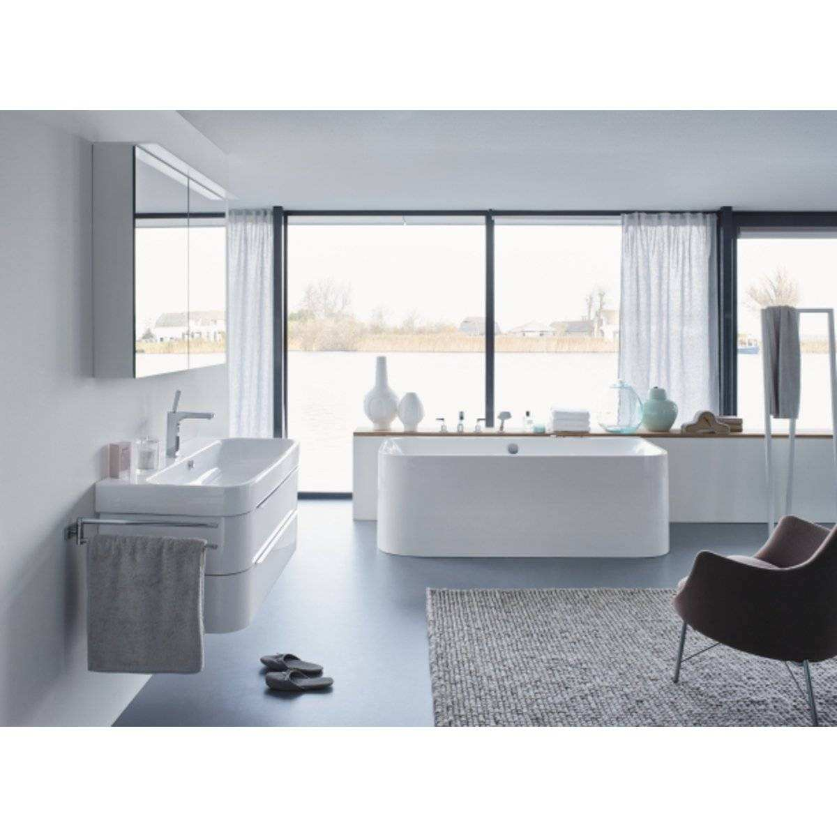 Duravit Bad Duravit Happy D 2 Back to Wall Bad 180 X 80cm Met