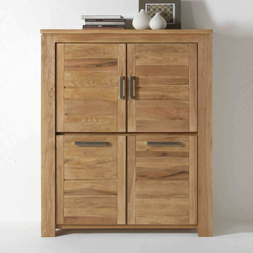 Highboard Eiche Highboard Kommode soms Aus Eiche