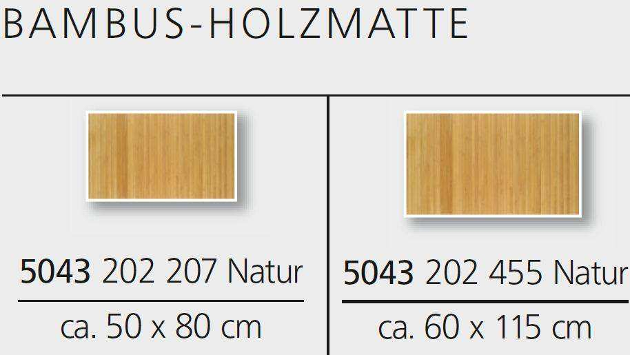 Holzmatte Bad Wellness Edition Produkt Holzdesign Rustikales
