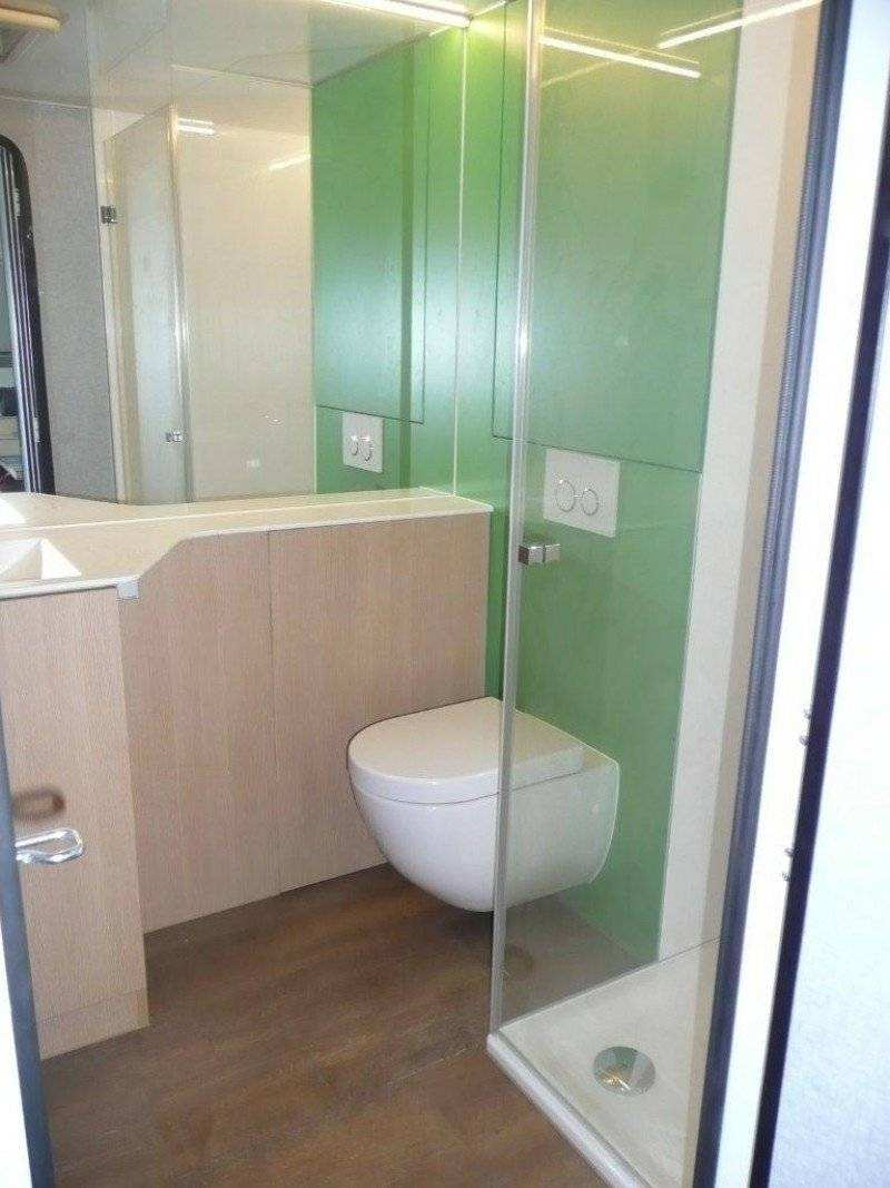 Mobile Dusche Mobiles Bad Spectra Mb 2800 Eiche Badezimmer Mobil