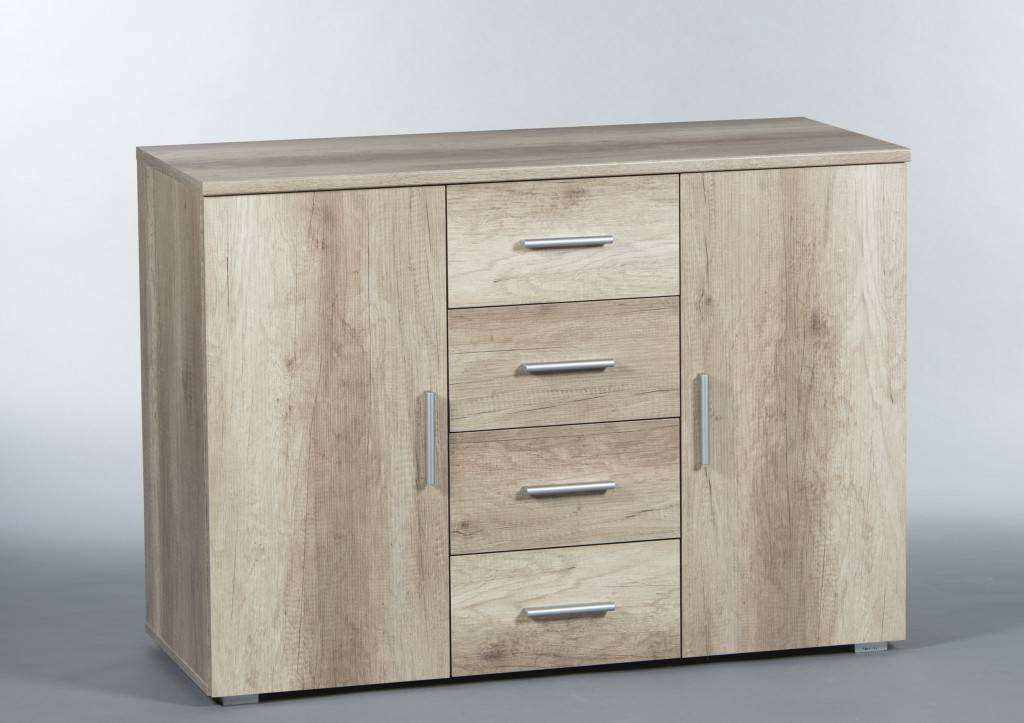 Sideboard Eiche Hell Kommode Pedro 1 Sideboard Eiche San Remo Hell