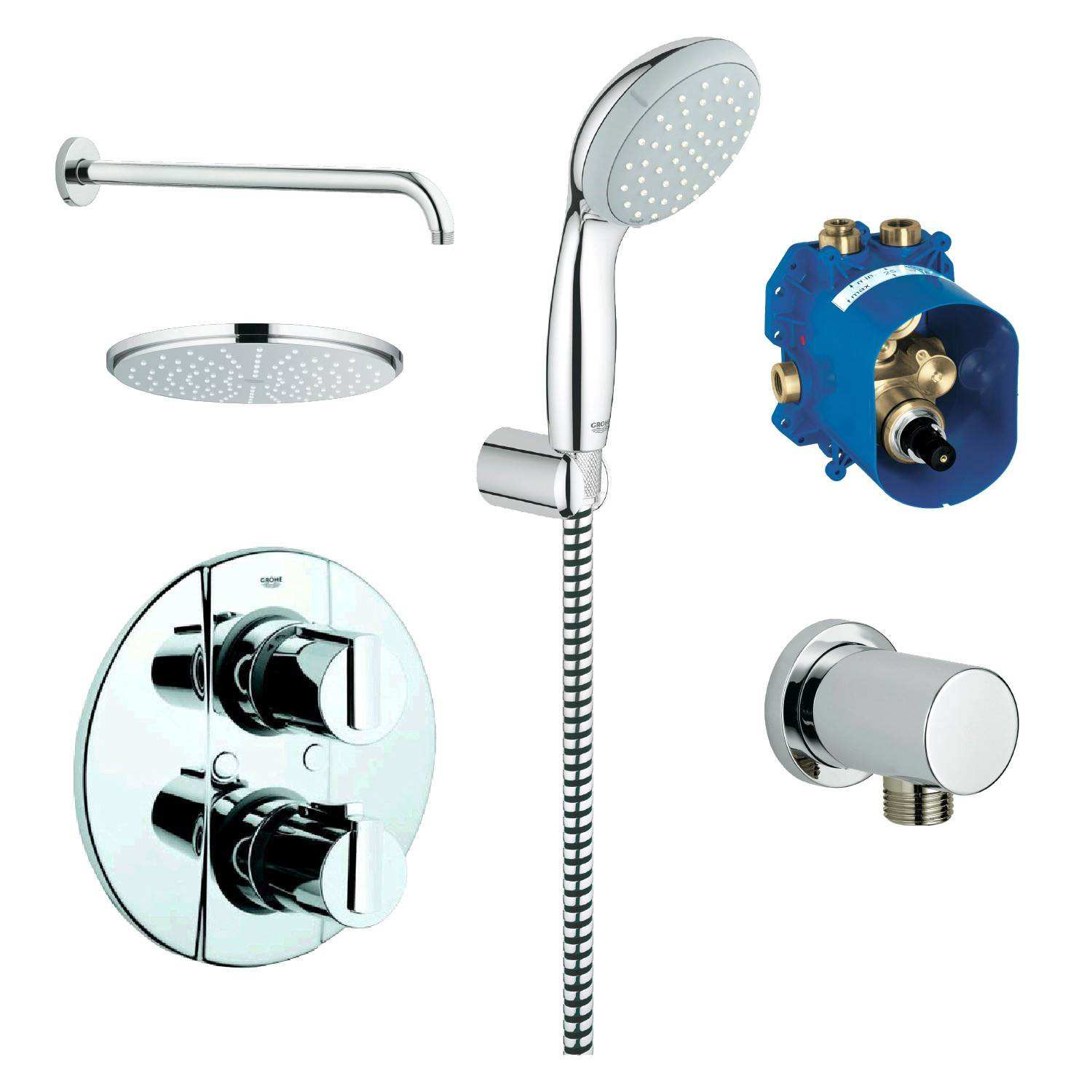 Thermostat Dusche Grohe thermostat Dusche Excellent Awesome Bright and