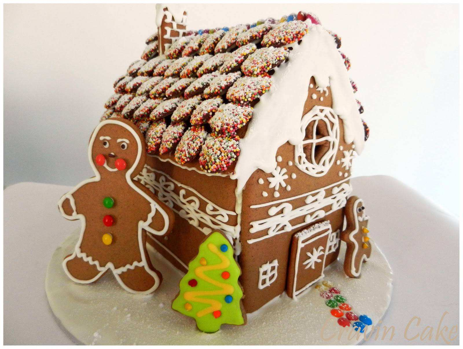 Gienger Bad Cravin Cake Gingerbread House