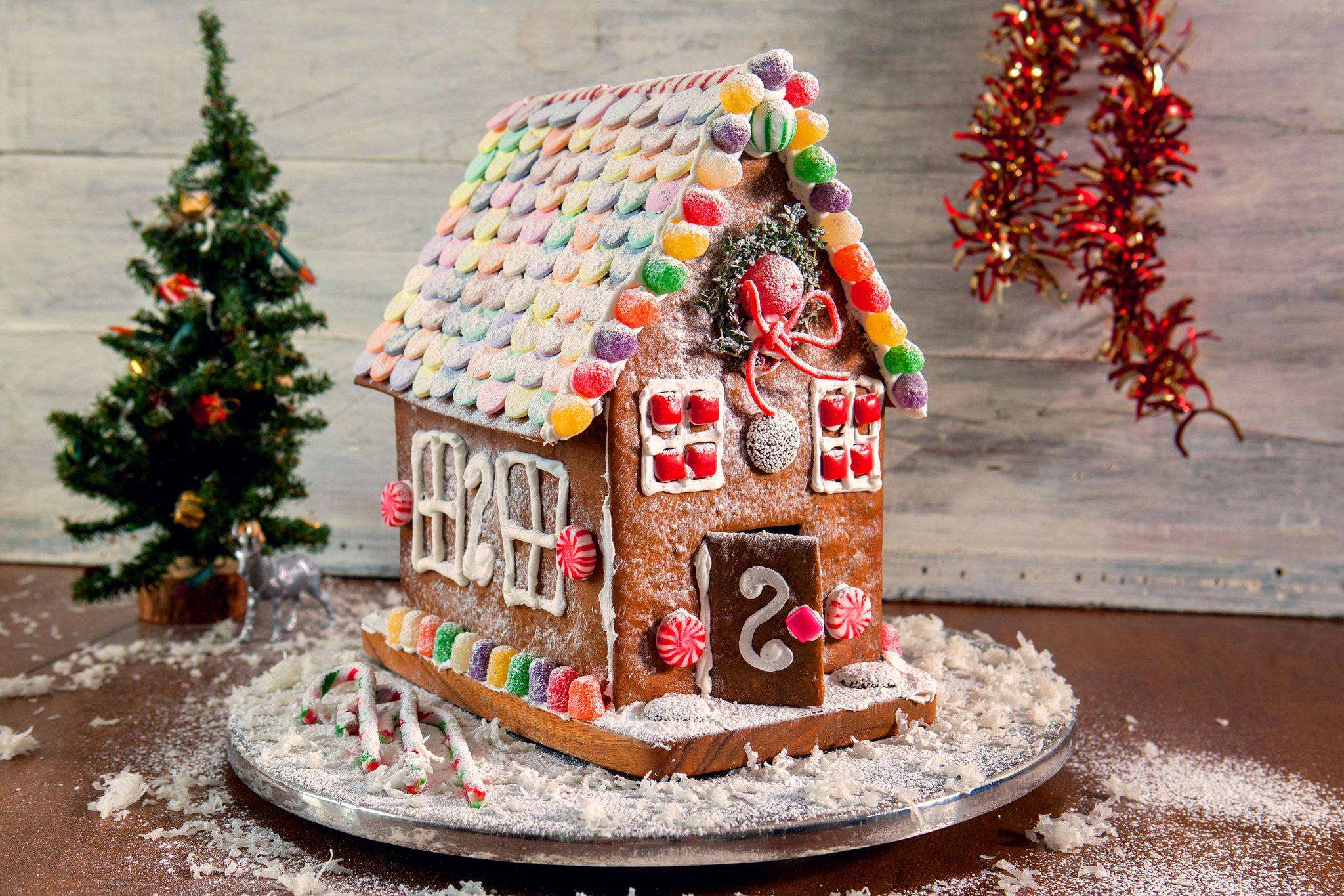Gienger Bad Gingerbread House Recipe Nyt Cooking