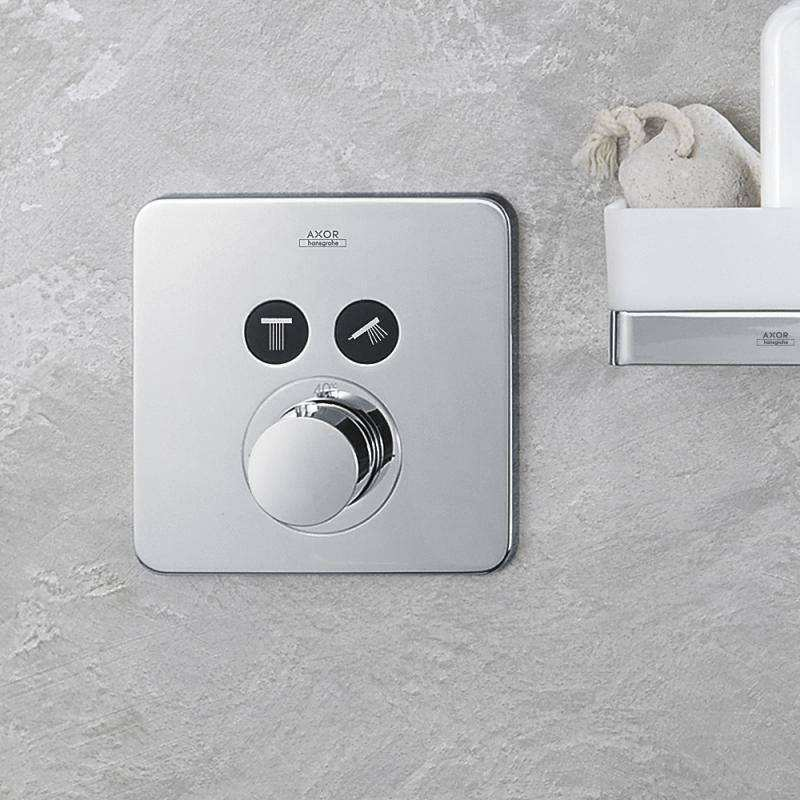 Hansgrohe Axor ShowerSelect Soft Cube Thermostat Unterputz