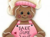 Gienger Bad Hp Gingerbread Fridge Magnet Bake some Love